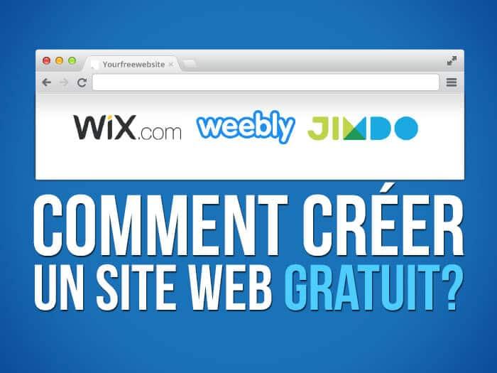 Créer un site web gratuit : les 10 meilleurs éditeurs