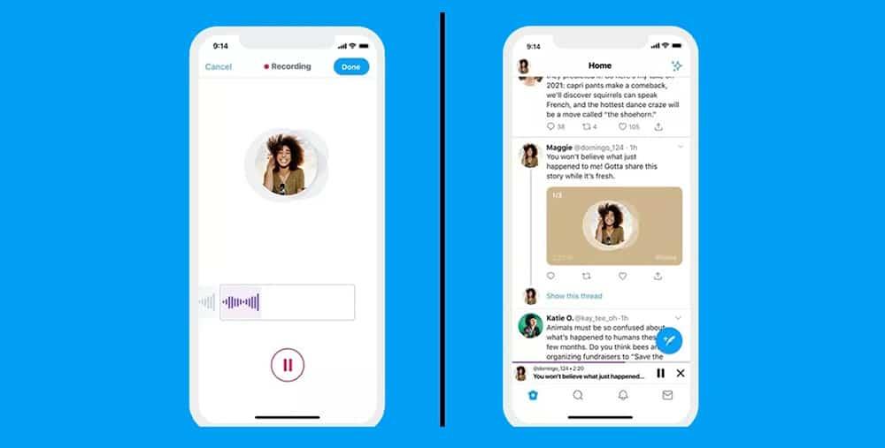 Les utilisateurs iOS pourront bientôt twitter par voix sur Twitter